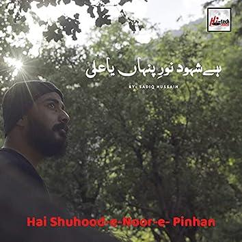 Hai Shuhood-E-Noor-E- Pinhan