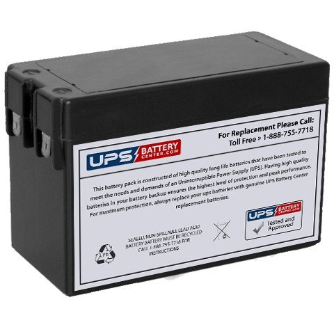 Rechargeable, high Rate Minuteman PRO 500E Replacement Battery