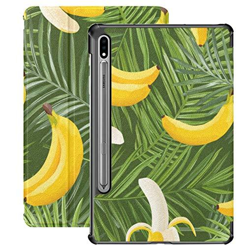 Delicious Yellow Bananas Samsung Galaxy Funda para Tableta para Samsung Galaxy Tab S7 / s7 Plus Funda para Samsung Galaxy S7 Soporte Funda para Tableta 7 Pulgadas para Galaxy Tab S