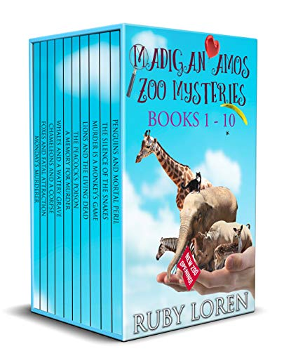 Madigan Amos Zoo Mysteries: Books 1 - 10 (Madigan Amos Zoo Mysteries Boxset)