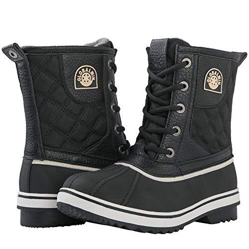 (66% OFF) Women's Mid Calf Winter Snow Boots $27.99 Deal