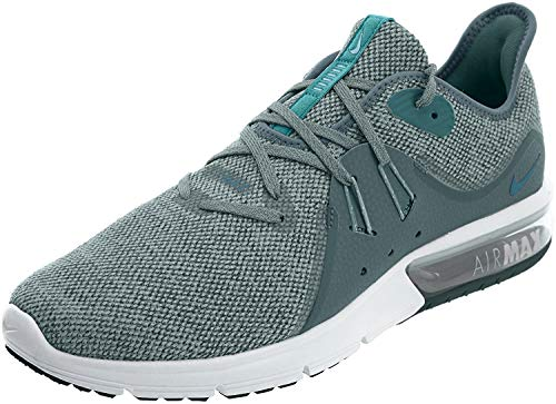 Nike Men's Air Max Sequent 3 Running Shoe Mica Green/Geode Teal/Faded Spruce Size 12 D US