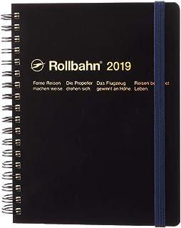 デルフォニックス [2019年版] ロルバーンダイアリー Lサイズ ブラック 190013-105