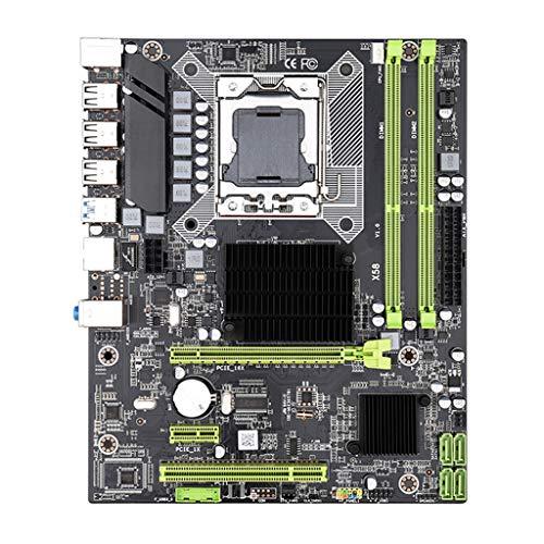 BIlinli Placa Base X58 LGA 1366 i7 5675 DDR3 Placa