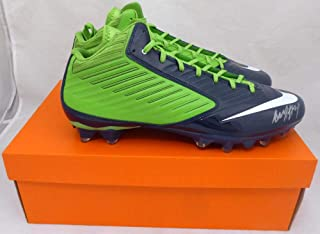 ad43d15f496b Marshawn Lynch Autographed Nike Cleats Shoes Seattle Seahawks (Smudged) ML  Holo #16212 -