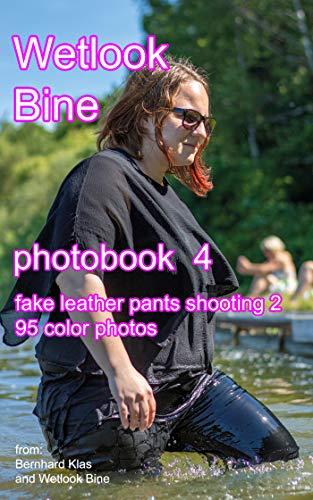 Wetlook Bine - photobook 4 - fake leather pants shooting 2