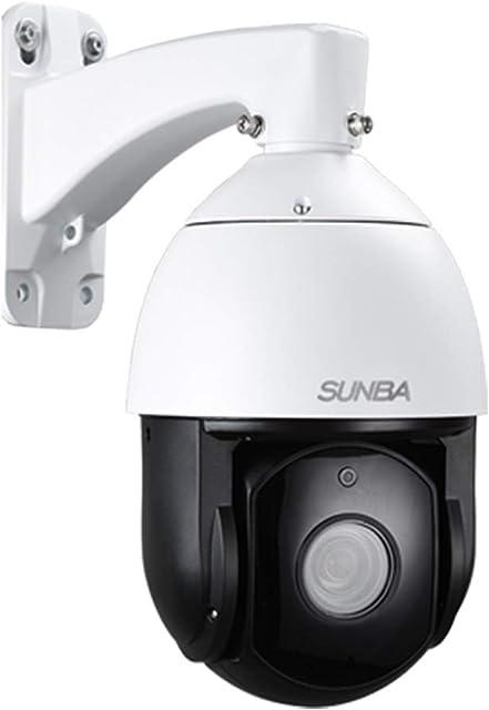 SUNBA Cámara PTZ para exteriores 1080p IP PoE+ zoom óptico 20x@H.265 domo de velocidad media 24x7 Tour automático PTZ visión nocturna infrarroja de largo alcance hasta 250m (603-D20X)