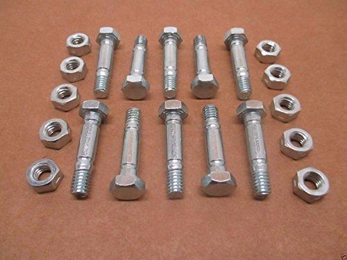 Oregon 10Stück 80–743Schneefräse Scherstift & Nut für MTD 710–0890A 910–0890A