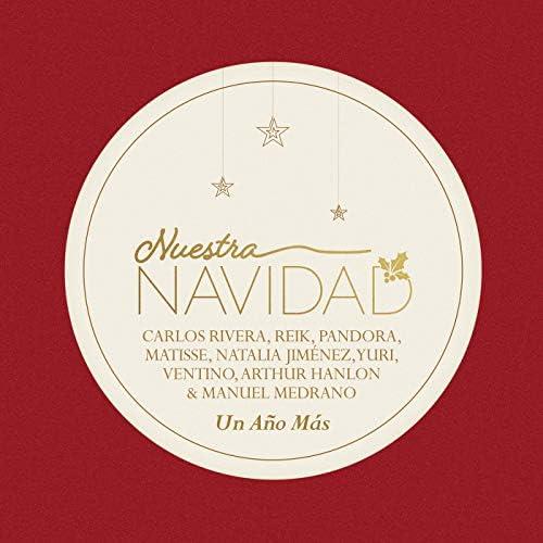Carlos Rivera, Reik, Pandora, Matisse, Natalia Jiménez, Yuri, Ventino, Arthur Hanlon & Manuel Medrano