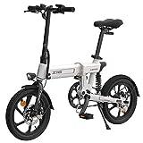 Roeam Bicicletas eléctricas,Bicicleta eléctrica montaña, Bicicleta eléctrica de Asistencia eléctrica Plegable de 16 Pulgadas Ciclomotor 80KM Alcance 10AH