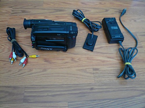 sony CCD-TR400 Hi8 Stereo NTSC Camcorder Plays 8mm video8 Analog Tapes