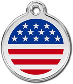 Best american flag dog tag engraved Reviews