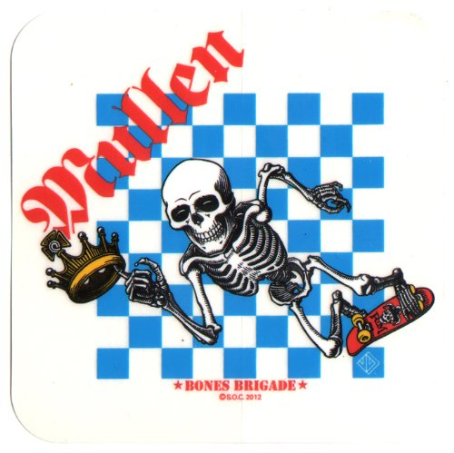 Powell Peralta Skateboard-Aufkleber–Motiv: Rodney Mullen Bones Brigade, Offizielle Neuauflage