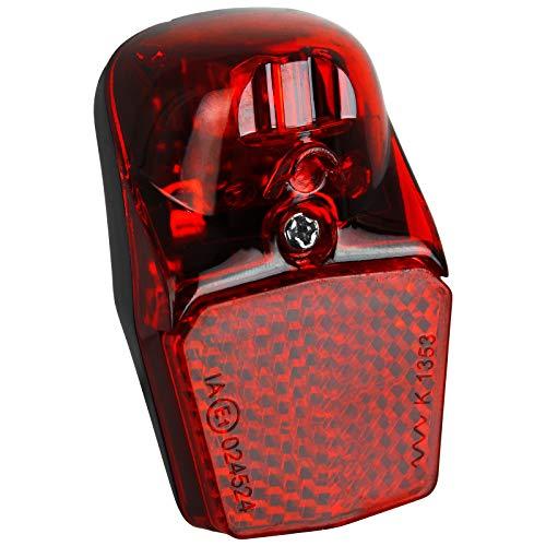 TW24 Fahrrad Dynamo Rückleuchte klein mit StVZO-Zulassung Rücklicht Fahrradlicht hinten Fahrradbeleuchtung Fahrradrücklicht