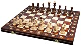 Albatros Schachspiel DA VINCI, Feldgre 42 x 42 cm, Handarbeit aus Holz