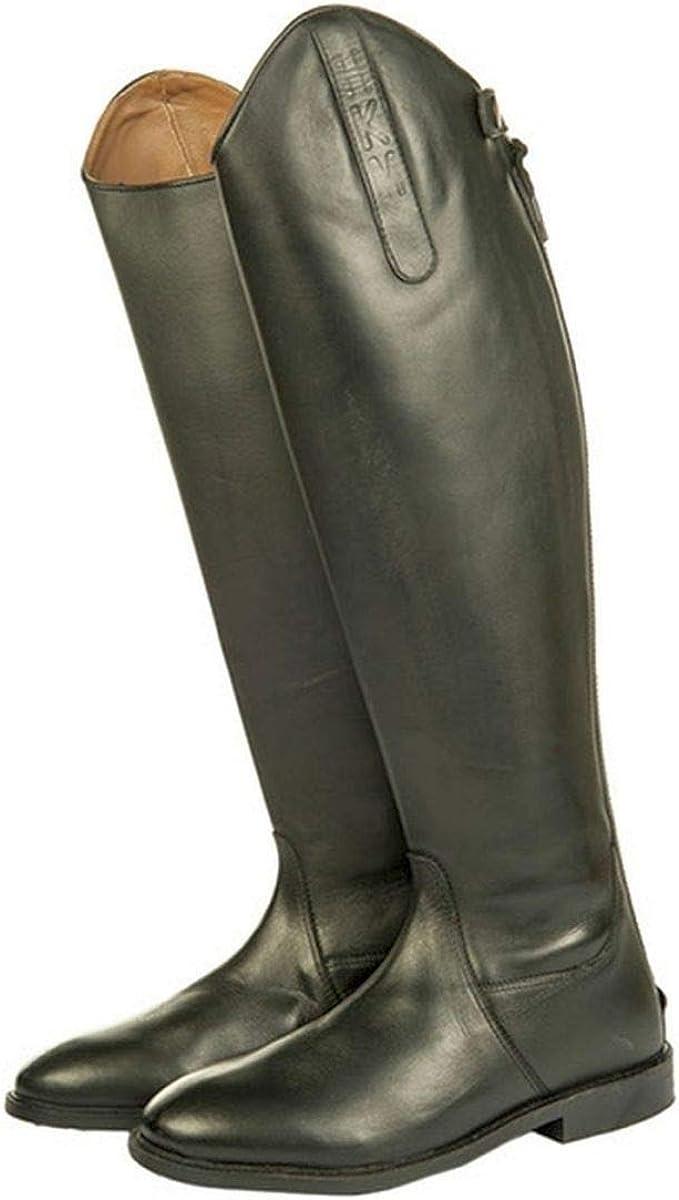 HKM Herren Reitstiefel Italy Soft Leder Normal//Extra Weit