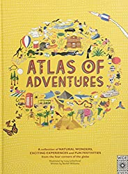Children's books about Travel: The cover of the book Atlas of Adventures