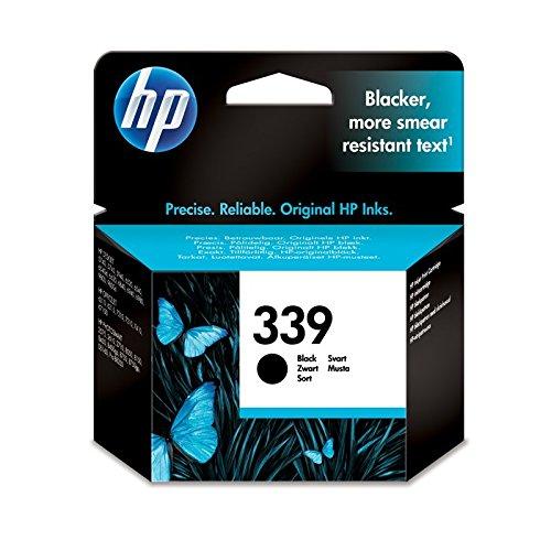 HP 339 Black Inkjet Print Cartridge with Vivera Ink - ink cartridges (Black, 20-80%, 4 32, 0-40 °C, 15-35 °C, Inkjet)