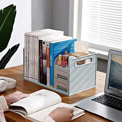 Ghaike Caja de almacenamiento de escritorio, bandeja multifuncional de almacenamiento de oficina, organizador de archivos duradero, utilizado en la oficina, estudio, escuela