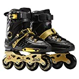 XIUWOUG Skating Shoes Roller Blades Adult Women Men 36-44 Sports Roller Blades Outdoor & Indoor, Comfortable Inline Skates Shoes,38