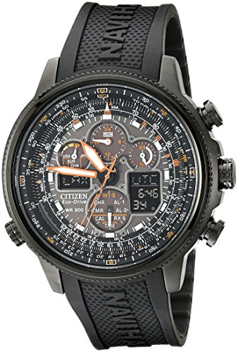 Citizen Men's Eco-Drive Navihawk Atomic Timekeeping Watch, JY8035-04E
