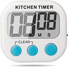 SYGA Digital Kitchen Cooking Timer with Loud Alarm, Large LCD Display, Timer with Magnetic Backing and Retractable Stand, Timing Alarm Clock for Cooking