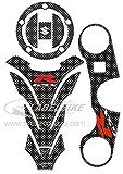 kit ADESIVI 3D PROTEZIONI compatibili per MOTO SUZUKI Gsx-r 600 e 750 2006-2016