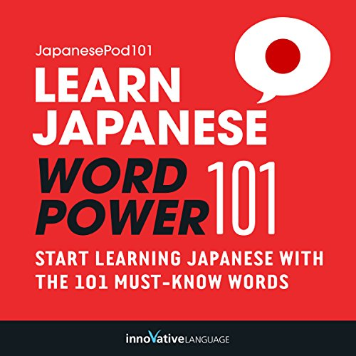 Couverture de Learn Japanese: Word Power 101