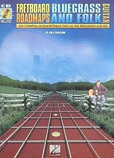 fret Board roadmaps (+ CD): For Bluegrass and Folk Guitar