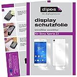 dipos I 6X Schutzfolie klar kompatibel mit Sony Xperia Z3 Folie Bildschirmschutzfolie