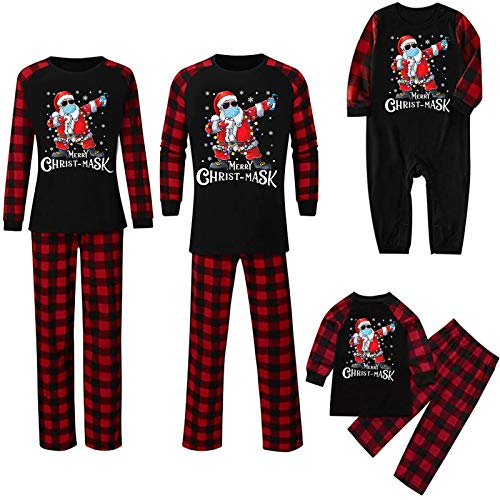 Why Choose Gwewei4df Christmas Family Pajamas Matching Sets, Christmas Toddler Baby Printed Romper J...