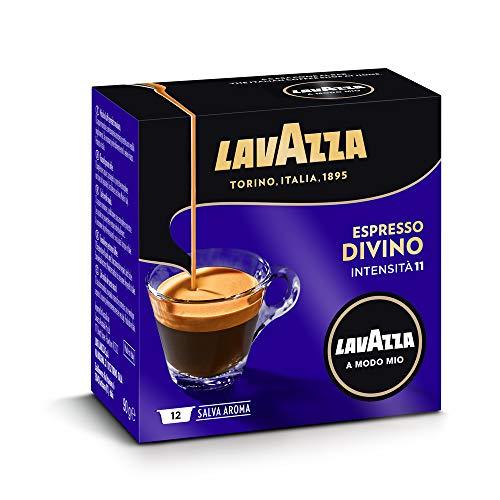 Lavazza A Modo Mio Espresso Divino, 5er Pack, 5 x 12 Kapseln (5 x 90 g)