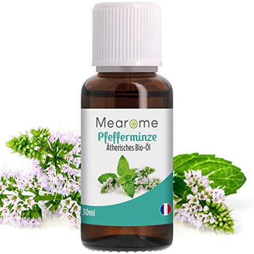 Pfefferminzöl BIO   Ätherisches Öl 100% Naturrein   Minzöl gegen Kopfschmerzen + Migräne   Pfefferminz Aroma Zum Verzehr   Diffuser Duftöl Duftlampe Aromatherapie Minze Pur auch China Öl genannt
