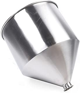 Entonnoir en acier inoxydable pour machine de remplissage Machine de remplissage entonnoir à épices liquides haricots en p...