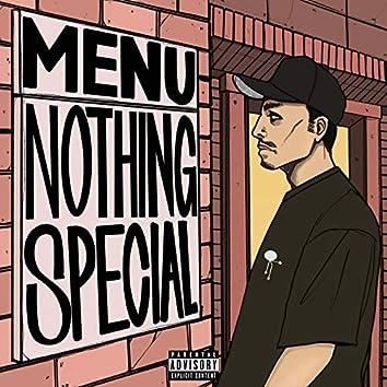 Menu: Nothing Special
