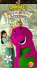 Barney's Magical Musical Adventure VHS