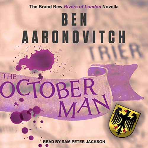 The October Man audiobook cover art