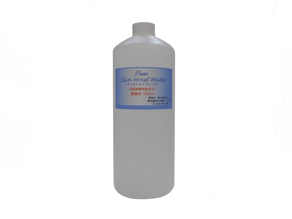 授業料郵便番号卑しい強電解 酸性水 化粧水 スキンモイスト ウォーター 1L 業務用