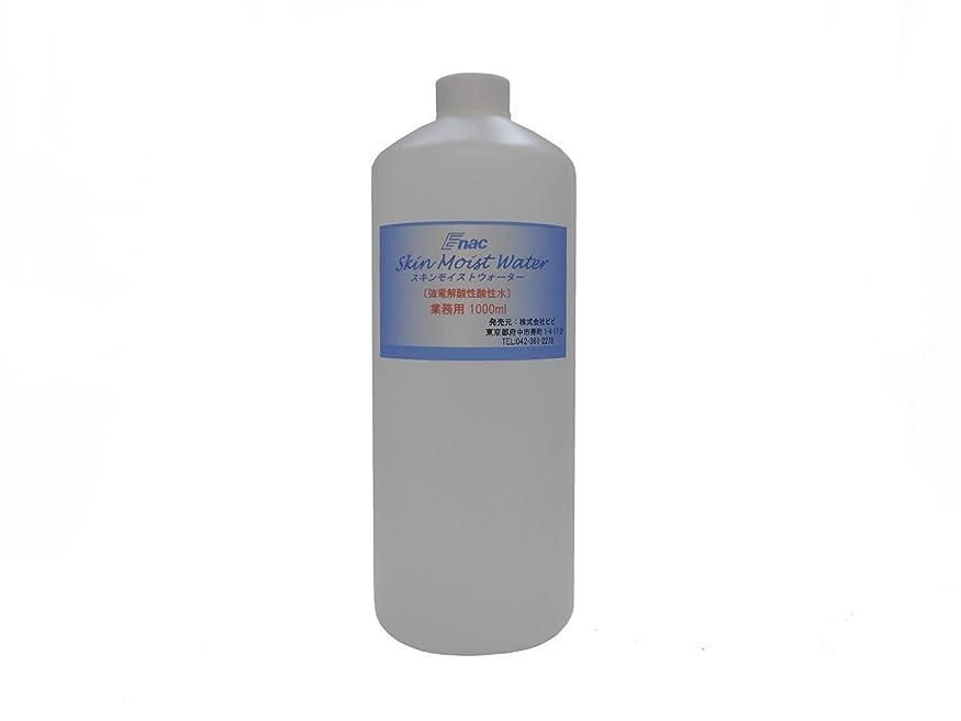 意気揚々計り知れないの量強電解 酸性水 化粧水 スキンモイスト ウォーター 1L 業務用