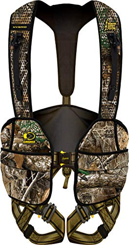 Hunter Safety System RT Hybrid Tree Stand Safety Harness with ElimiShield Scent Control Technology (New for 2019), Small/Medium