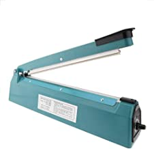 PrimeMatik - Impulse heat sealing sealer plastic bag 12-inch 30cm with British plug