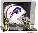 Buffalo Bills Mini Helmet Display Case - Football Mini Helmet Free Standing Display Cases