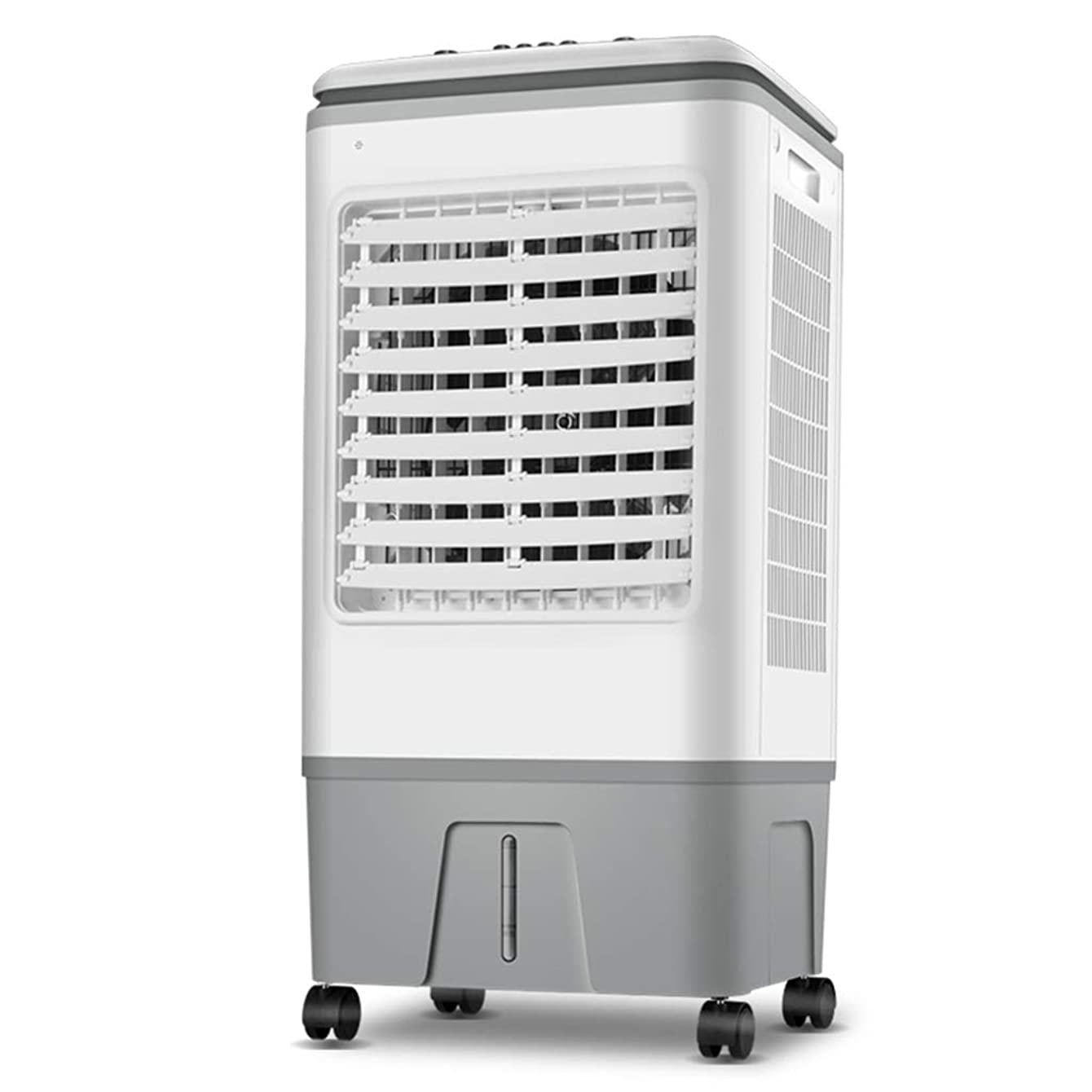 Mobile Air Conditioner Fan with Remote Control, Portable Evaporative Air Cooler, 3 Speeds Cooling Fan, Water-Cooled air Conditioner 18 Hour Timer and 17 Litre Water Tank