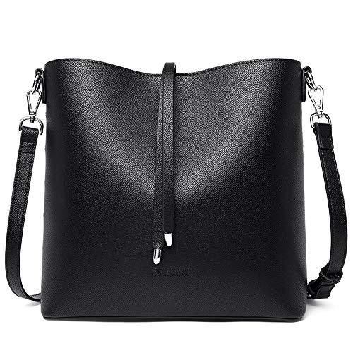 WESTBRONCO Women Handbag Leather Designer Crossbody Tote Pures Shoulder Hobo Bucket Bag for Casual Work Daily
