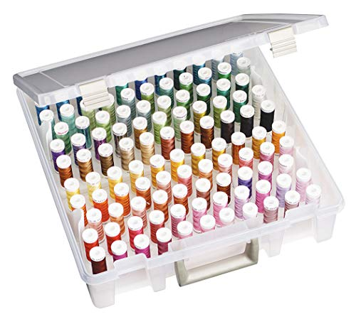Art Bin Super Satchel Box W/rimovibile Thread vassoi-15 X 14