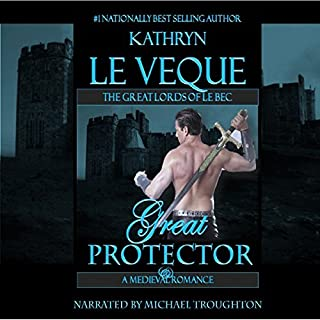 Great Protector                   By:                                                                                                                                 Kathryn Le Veque                               Narrated by:                                                                                                                                 Michael Troughton                      Length: 13 hrs and 54 mins     94 ratings     Overall 4.5