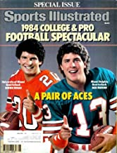 Sports Illustrated - 1984 College & Pro Football Special: Bernie Kosar & Dan Marino Cover, Walter Payton, Bo Jackson, and Much More! (Volume 61 Number 12)