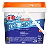 HTH 42044 Ultimate 3' Tablets Swimming Pool Chlorine, 8 lbs