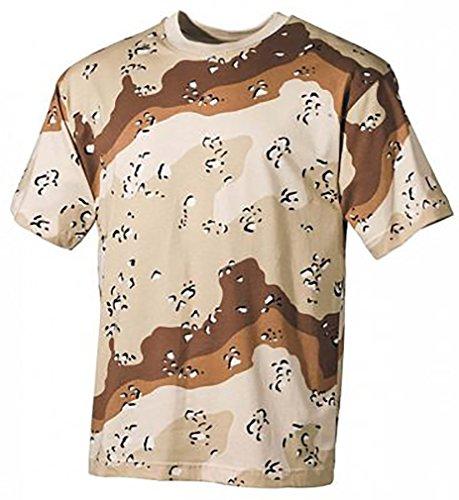 Mil-Tec US Army T-Shirt Camouflage léger (6 Couleurs Desert/3XL)
