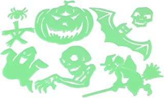CLISPEED 1 Set Halloween Wall Stickers Luminous Witch Wallpaper Wall Decor for Costume Parties Home Decorative Halloween